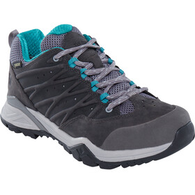 The North Face Hedgehog Hike II GTX - Chaussures Femme - gris/turquoise